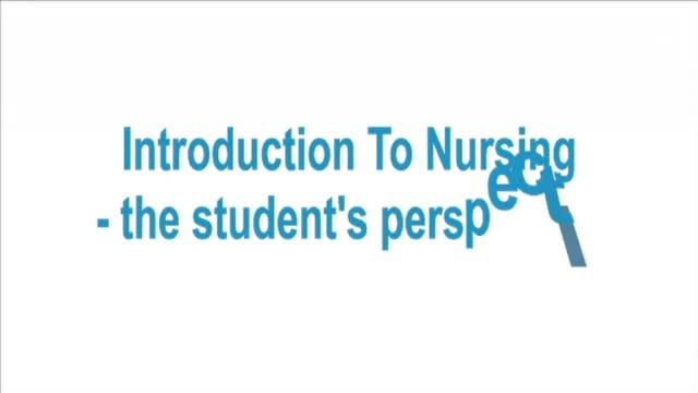 Intro to Nursing - the students #1
